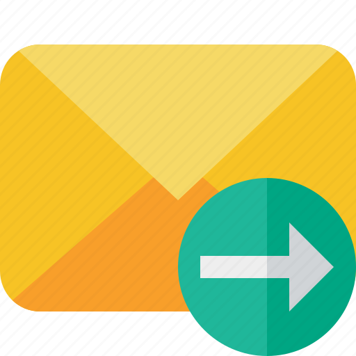 communication, email, letter, mail, message, next icon