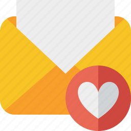 communication, email, favorites, letter, mail, message, read icon