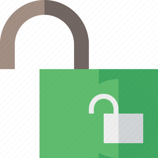 access, password, protection, secure, unlock icon