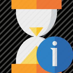 alarm, clock, information, timer, wait, watch icon