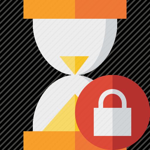 alarm, clock, lock, timer, wait, watch icon