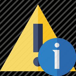 alert, caution, error, exclamation, information, warning icon