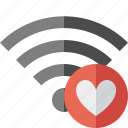 connection, favorites, fi, internet, wi, wifi, wireless icon