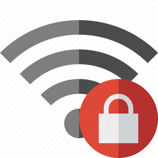 connection, fi, internet, lock, wi, wifi, wireless icon