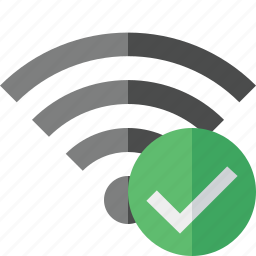 connection, fi, internet, ok, wi, wifi, wireless icon