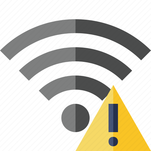 connection, fi, internet, warning, wi, wifi, wireless icon