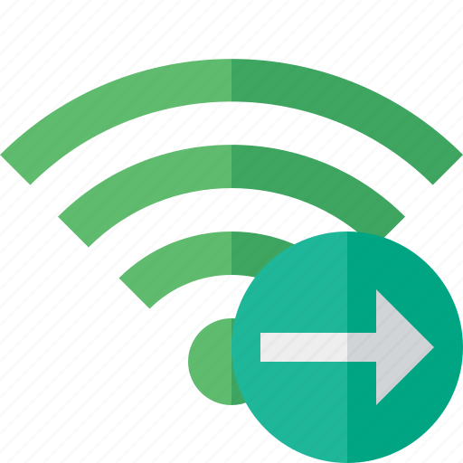 connection, fi, green, internet, next, wi, wireless icon