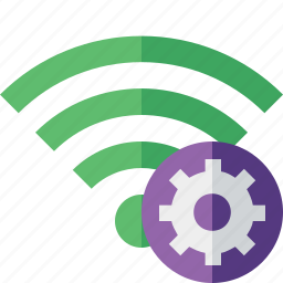 connection, fi, green, internet, settings, wi, wireless icon