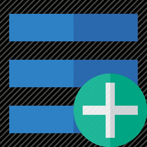 add, list, menu, nav, navigation, options, toggle icon