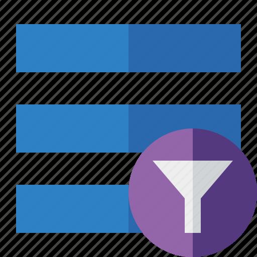 filter, list, menu, nav, navigation, options, toggle icon
