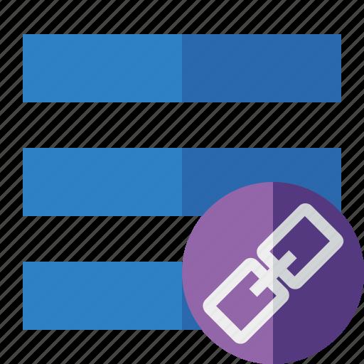 link, list, menu, nav, navigation, options, toggle icon
