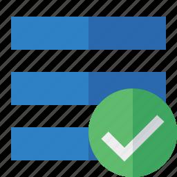 list, menu, nav, navigation, ok, options, toggle icon