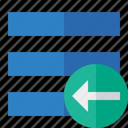 list, menu, nav, navigation, options, previous, toggle icon