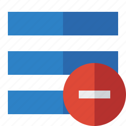 list, menu, nav, navigation, options, stop, toggle icon