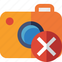camera, cancel, photo, photocamera, photography, picture, snapshot