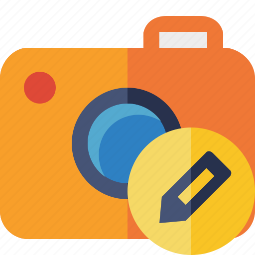camera, edit, photo, photocamera, photography, picture, snapshot icon