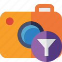 camera, filter, photo, photocamera, photography, picture, snapshot icon