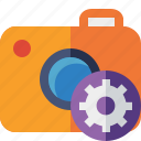 camera, photo, photocamera, photography, picture, settings, snapshot icon
