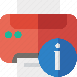 document, information, paper, print, printer, printing icon
