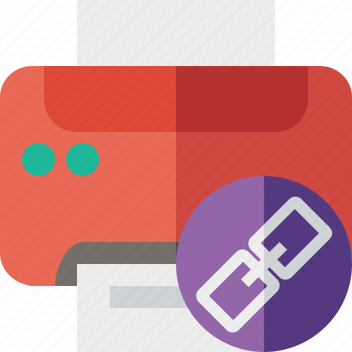 document, link, paper, print, printer, printing icon