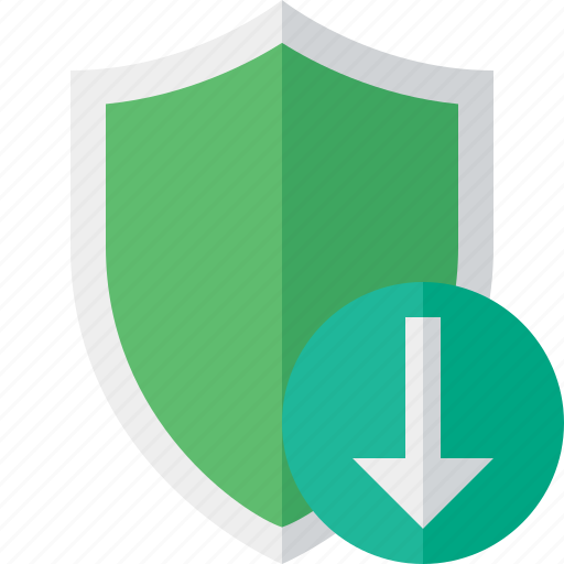 download, protection, safety, secure, security, shield icon
