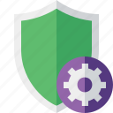 protection, safety, secure, security, settings, shield icon