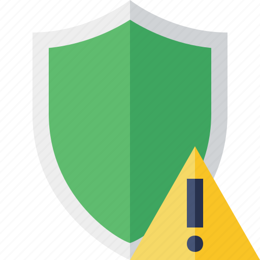 protection, safety, secure, security, shield, warning icon