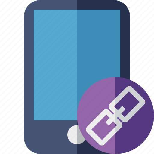 device, iphone, link, mobile, phone, smartphone icon