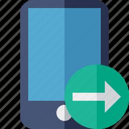 device, iphone, mobile, next, phone, smartphone icon