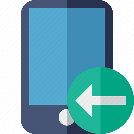 device, iphone, mobile, phone, previous, smartphone icon