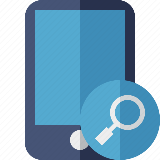 device, iphone, mobile, phone, search, smartphone icon