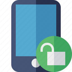 device, iphone, mobile, phone, smartphone, unlock icon