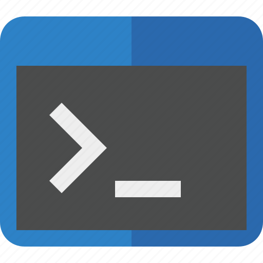 cmd, command, prompt, shell, terminal icon