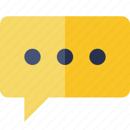 bubble, chat, comment, message, talk icon