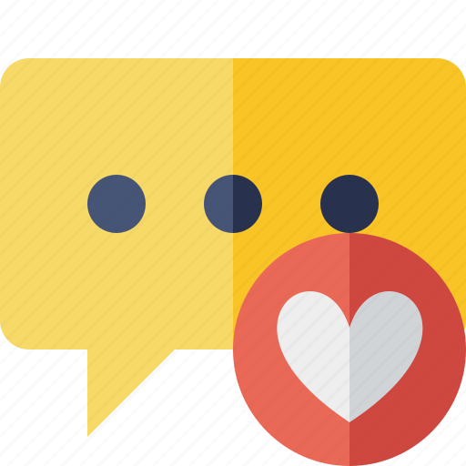 bubble, chat, comment, favorites, message, talk icon