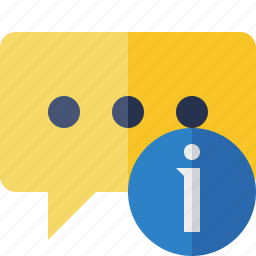 bubble, chat, comment, information, message, talk icon