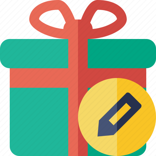 box, christmas, edit, gift, present, xmas icon