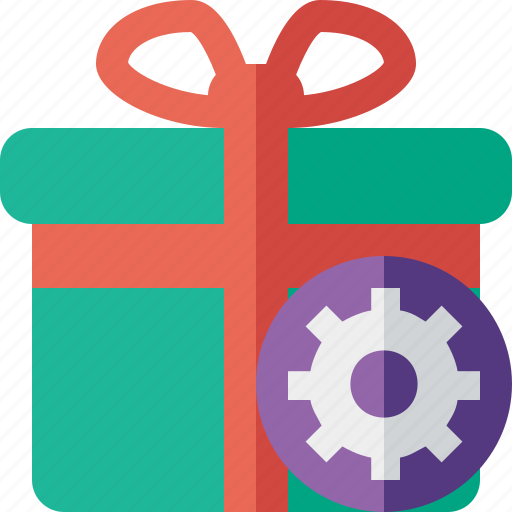 box, christmas, gift, present, settings, xmas icon