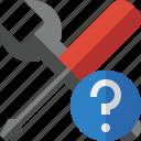 help, options, preferences, settings, tools