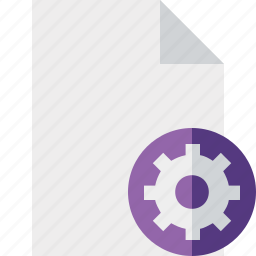 blank, document, file, page, settings icon