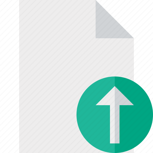 blank, document, file, page, upload icon