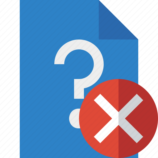 Cancel, document, file, help, page, support, ticket icon - Download on Iconfinder