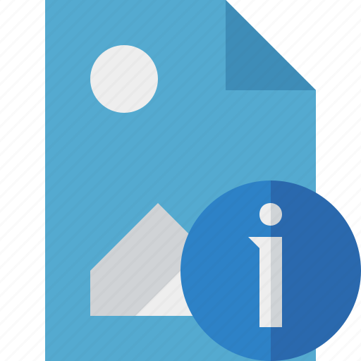document, file, image, information, picture icon