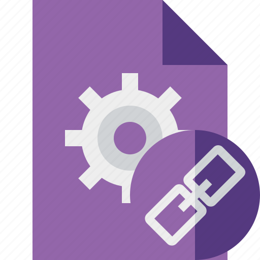 Document, file, link, options, page, settings icon - Download on Iconfinder