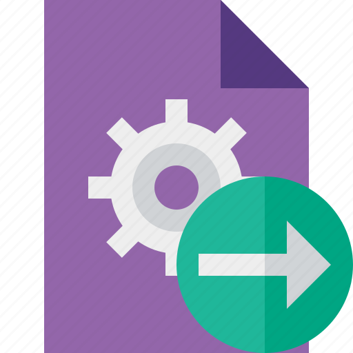 document, file, next, options, page, settings icon
