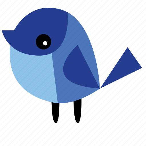animal, bird, ecosystem, navy, pet, tree icon