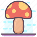 champignon, fungi, fungus, mushroom, oyster mushroom, toadstool icon