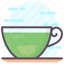 coffee cup, green tea, hot coffee, hot tea, lemon tea, teacup icon