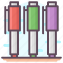 ballpen, ballpoint, pen, stationery tool, writing tool icon