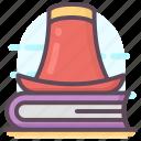 magician book, magician catalogue, magician manual, magician notebook, magician novel icon